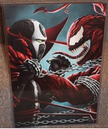Spawn vs Carnage Glossy Print 11 x 17 In Hard P... - $24.99