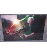 Harry Potter vs Voldemort Glossy Art Print 11 x 17 In Hard Plastic Sleeve - $24.99