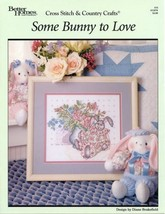 Some Bunny to Love BH&G Cross Stitch Pattern NEW - 30 Days to Shop & Pay! - $2.67