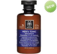 Apivita Men's Tonic Shampoo For Hair Loss With Hippophae TC & Rosemary 2... - $23.72