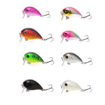 ZANLURE 1pc 5cm 8g Wobbler Fat Crankbait Fishing Lure Artificial Bass Ha... - $7.20