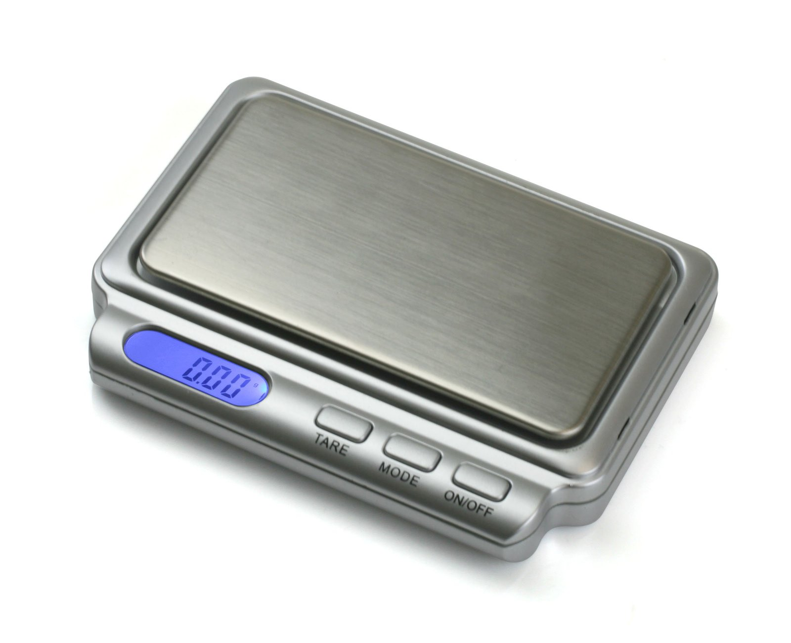 Used, American Weigh Scale Card2-100-sil AAA Battery Card Scale, Silver, 100 X 0.01 G for sale  USA