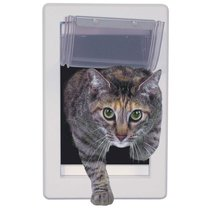 Perfect Pet Small Soft Flap Cat Door with Telescoping Frame, 5-Inch by 7-Inch - $24.74