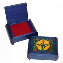 Dragonfly Secret Box Polish Handmade Linden Wood Keepsake Jewelry Box - €38,77 EUR