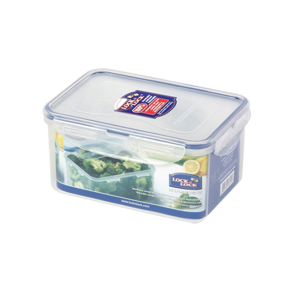 Primary image for Lock & Lock BPA Free Classic Rectangular Container with Leak Proof Locking Li...