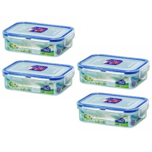 Lock & Lock, No BPA, Water Tight, Food Container, 1.5-cup, 12-oz, Pack of 4, ... - $24.74