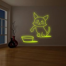 """( 87"""" x 87"""" ) Glowing Vinyl Wall Decal Quote Cast All Your Cares on Him / Glo... - $412.17"""