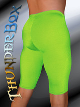 Thunder Box Nylon Spandex Choose Neon Green Jammer Shorts! S, M, L, Xl - $33.00