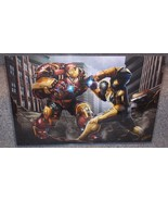 Hulkbuster vs Thanos Glossy Print 11 x 17 In Ha... - $24.99