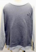 Penguin Munsingwear Gray Fleece Sweater Crew XXL Men Cotton White Thread... - $37.39