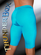 ThunderBox Nylon Spandex MatteTurquoise Jammer Shorts! S, M, L, XL - $25.00