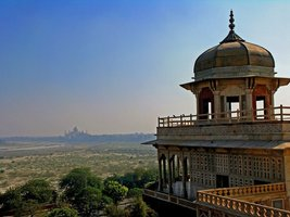 Vinteja Photography - Red Fort in Agra - India (view to Taj Mahal) - A3 ... - $19.79