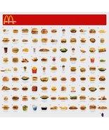 Vinteja charts of - McDonalds Menu - A3 Poster Print - $22.99