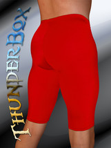 ThunderBox Nylon Spandex Choose RED Jammer Shorts! S, M, L, XL - $33.00