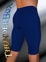 ThunderBox Nylon Spandex Choose Mydnyt Blue Jammer Shorts! S, M, L, XL - $25.00