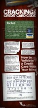 Vinteja charts of - Credit Card Code - A3 Poster Print - $22.99