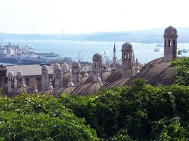 Vinteja Photography - Suleiman Mosque in Istanbul - Turkey (view to Bosp... - $19.79