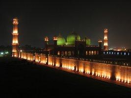 Vinteja Photography - Badshahi Mosque in Lahore - Pakistan (night) - A3 ... - $19.79