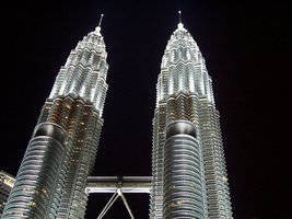 Vinteja Photography - Petronas Twin Towers in JualaLumpur - Malaysia - A... - $19.79