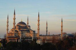 Vinteja Photography - Sultan Ahmed Mosque in Istanbul - Turkey (exterior... - $19.79