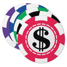 Epic Products Casino Chips Coaster (Set of 25),... - $11.75