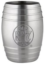 Jack Daniel's Barrel Stainless Steel Shot Glass (Bug Logo) - €11,26 EUR