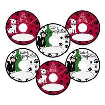 Epic Products Pet Party My Glass Tags (Pack of 24), Multicolor - $9.99