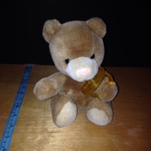 Vintage Russ Berrie  BeBe Teddy Bear with Pacifier RARE HTF - $29.70