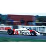 Vinteja Exhibit Poster - 1981 Silverstone (Mario Andretti, Alfa Romeo 17... - $19.79