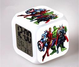 Marvel The Avengers LED Alarm Clock #06 - $25.99