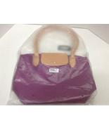 FASH Limited Designer Inspire Womens Bag Tote Purse Violet Zipper Closure - $5.45