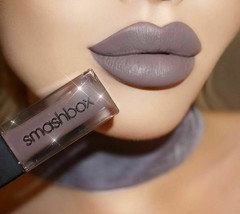 Smashbox ALWAYS ON Liquid LIPSTICK Lip Gloss CHILL ZONE Purple Gray 8 Ho... - $18.50