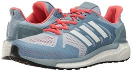 Adidas Womens Supernova ST Running Shoe Easy Blue White/Easy Coral BB3104 - $109.11