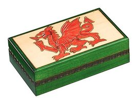 Linden Wood Celtic Dragon Box Polish Handmade Jewelry Box Wooden Keepsake - €47,39 EUR