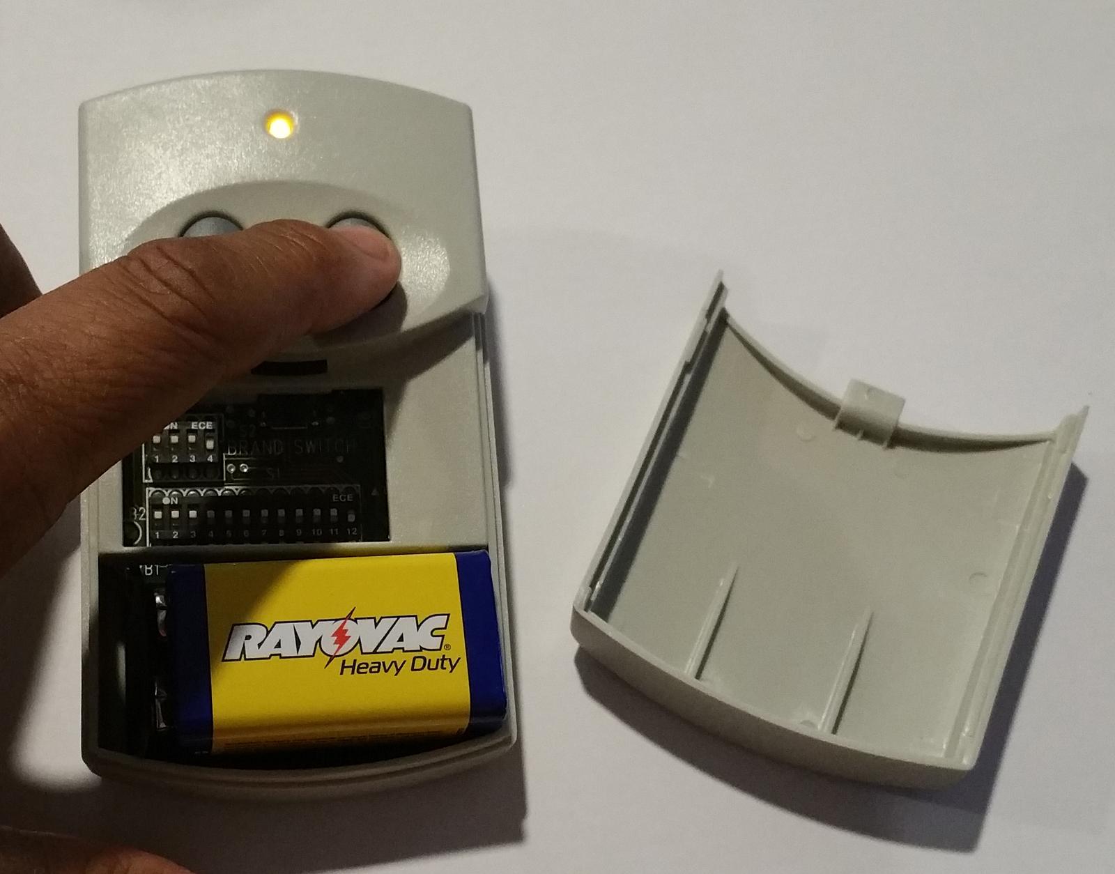 Chamberlain Clicker Clt1 Universal Garage Door Opener