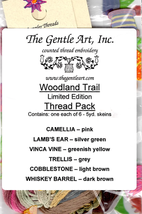 Woodland Trail Limited Edition Colors 6 skeins The Gentle Art  - $10.00