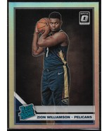 Zion Williamson Donruss Optic 19-20 #158 Silver Holo Prizm Rookie New Or... - $650.00