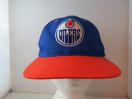 Edmonton Oilers Hat - Team Logo Front / Script Back (1990s) - Adult Snap... - $45.00
