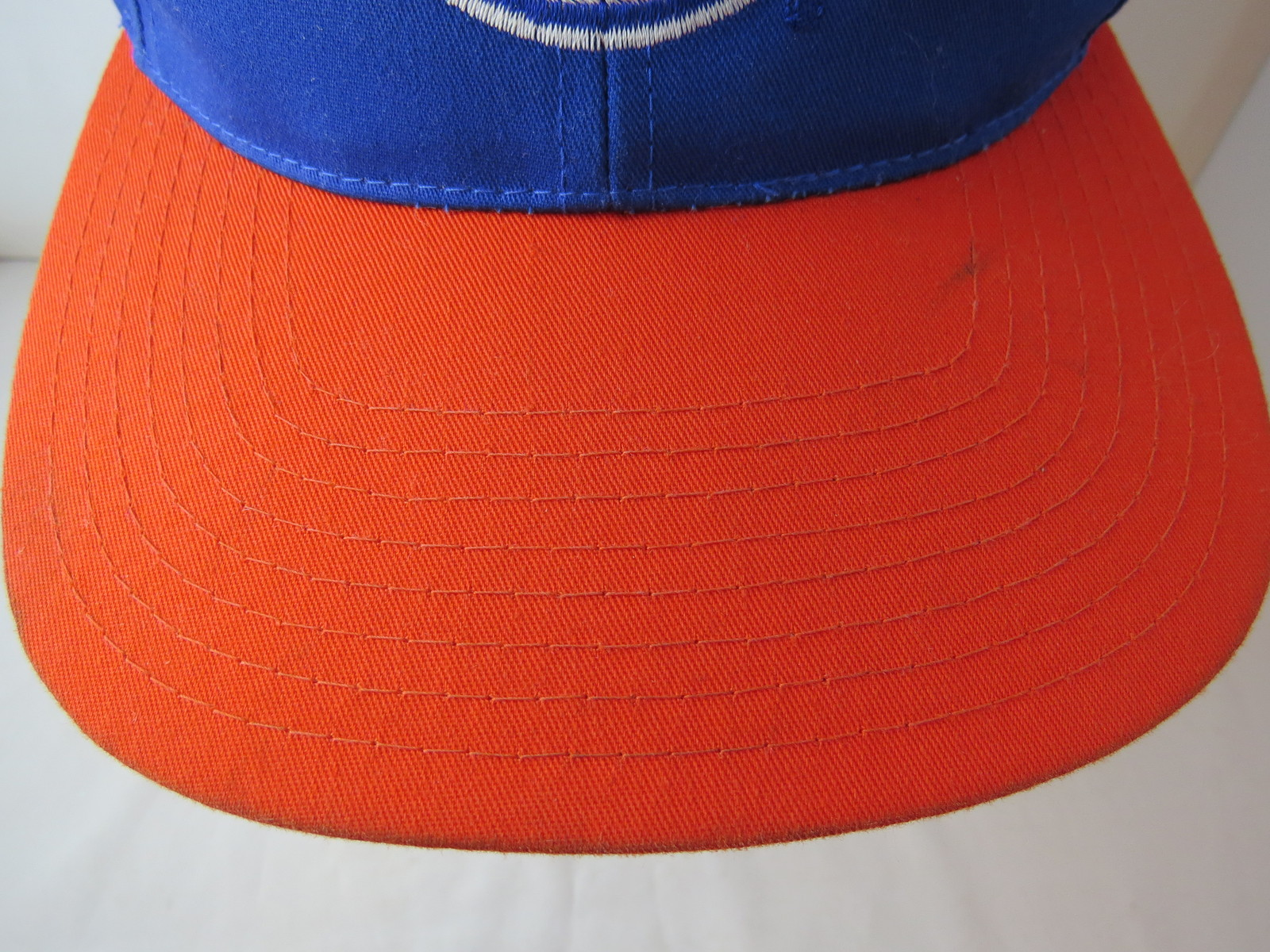competitive price 75ae2 5f8bc Edmonton Oilers Hat - Team Logo Front   Script Back (1990s) - Adult Snapback