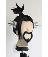 Overwatch Hanzo Cosplay Wig Buy, Hanzo Shimada Wig Cosplay for Sale - $55.00