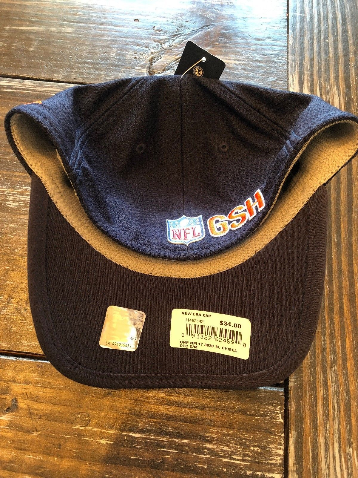 "New Era - Chicago Bears Sideline Hat With ""C"" Logo - Small/Medium Size - OSFA!!"