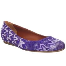 Missoni Ballet Flat - Purple - Made in Italy - NIB - $279.00