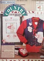 Daisy Kingdom Country Cutouts No-Sew Applique Berry Merry Christmas Tedd... - $8.99