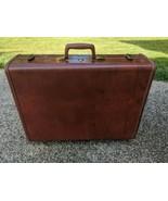 "SAMSONITE Shwayder Bros Denver Co. Hard Shell Suitcase & Key 24"" Style 4... - $49.49"