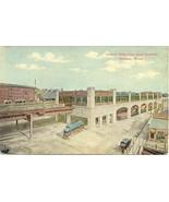 Forest Hills Train Station Boston Mass Vintage Post Card - $6.00
