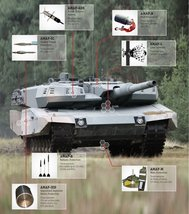 Vinteja charts of - M4A1 Abrams C - A3 Poster Print - $22.99