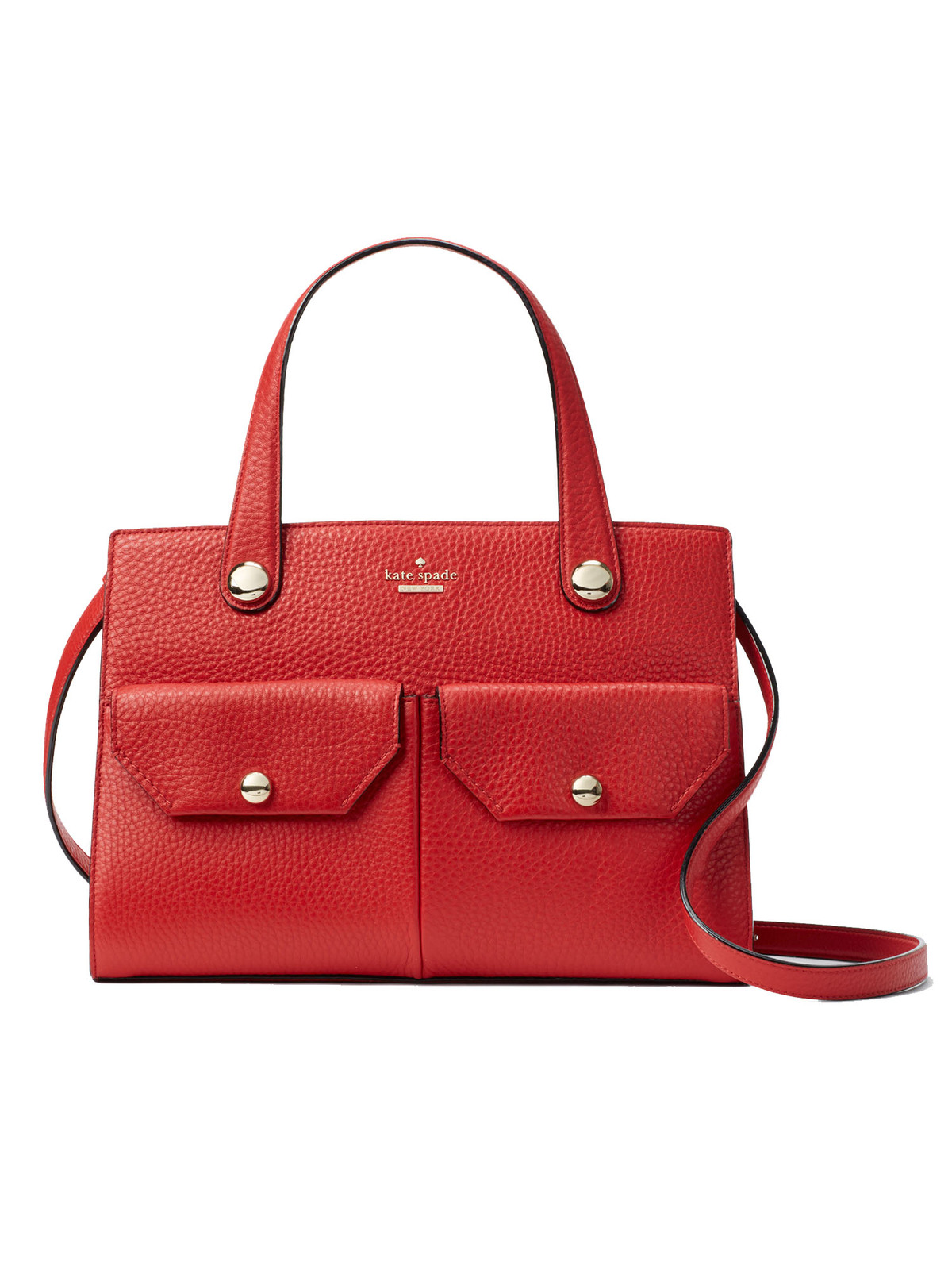 Kate Spade Stewart Street Big Joy Leather Satchel