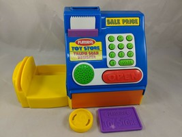 Playskool Talk n Scan Register Toy Pretend Money Card - $22.69