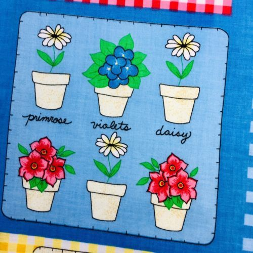Spring Garden Fabric How Does Your Garden Grow 2267 by Fabric Traditions 1 Yard