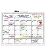 Dry Erase Board Monthly Calendar Planner Organi... - $29.39